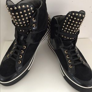 "Other - Versace ""Men's Black High Top"" (size 47/14)"